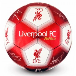 Liverpool Signature Football Autographs Sports Ball Size 5 Red