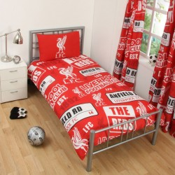 Liverpool FC Patch Påslakanset Bäddset 135x200 + 50x75cm Liverpool 399,00 kr product_reduction_percent