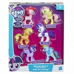 My Little Pony Meet the Mane 6 Ponies Collection Figures