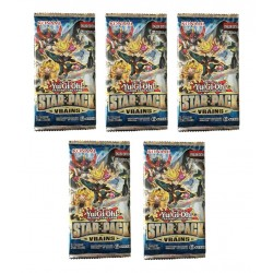 Yu-Gi-Oh! TCG Star Pack Vrains Boosters 5-Pack
