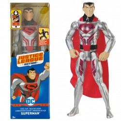 DC Justice League Steel Suit Superman Figure 30cm