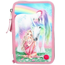 TOPModel Fantasy Model 44-delt Unicorn Triple Pen Case Penset med LED