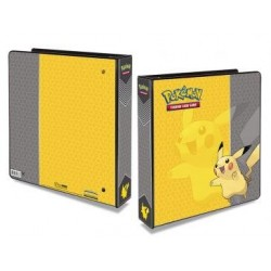 "Ultra Pro 2"" Ring Binder for Pokémon Cards Featuring Pikachu."