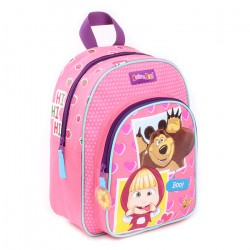 Masha And The Bear Backpack Bag 31x23x9 cm