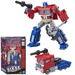 Transformers Generations War for Cybertron Voyager WFC-S11 Optimus Prime Figur