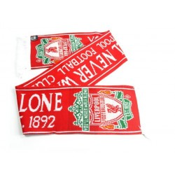 Liverpool FC Established Halsduk Scarf Double Fan 135x19cm Liverpool Scarf Red Liverpool 269,00 kr