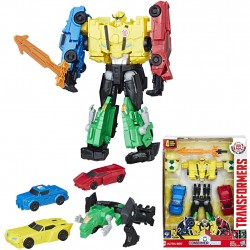 Transformers Robots in Disguise Combiner Force Team Combiner Ultra Bee 4in1 C0626 Ultra Bee Transformers 679,00 kr