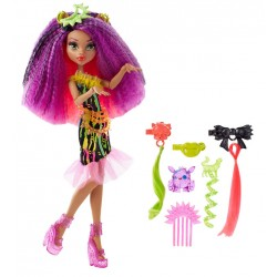 Monster High Clawdeen Wolf Electrified Hair-Raising Ghouls Doll 30cm