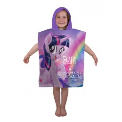 My Little Pony Kids Double Sided Hooded Towel Poncho 115*50 cm
