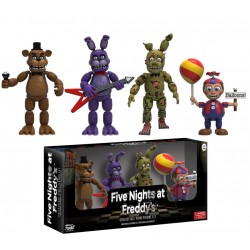 Five Nights at Freddy's: Four Pack 6cm Figures Nightmare Edition Vinyls Pack 2 Five Nights at Freddy's Pack 2 8 Five Nights a...