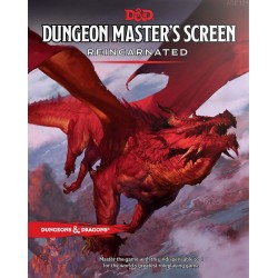 Dungeons & Dragons Dungeon Master's Screen Reincarnated SCREEN