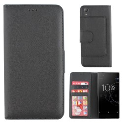 Colorfone Wallet Case for Sony Xperia XA1 Ultra BLACK