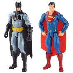 DC Comics Batman V Superman Action Figur 2-Pack 30cm