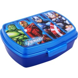 Marvel Avengers Hulk Thor Ironman Captain America Lunch Box