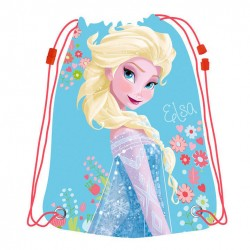 Disney Frozen Elsa Gym bag Sport Bag 44x33cm Light Blue