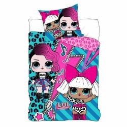 L.O.L. Surprise LOL Dolls Bed linen Reversible Duvet Cover 140x200 + 63x63cm