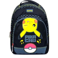 Pokemon Pikachu Pokeball Electric Backpack Backpack Bag 44x34x15cm