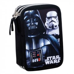 Star Wars Flash Darth Vader 43-pieces Triple School Set Pencil Case