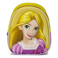 Disney Princess Rapunzel Junior Backpack School Bag 3D Design 27x23x10cm