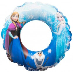 Disney Frozen Anna Elsa Swimming Swim Ring Inflatable 3-6 Years
