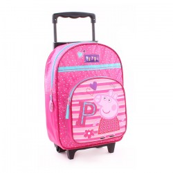 Peppa Pig Trolley Travel Bag Backpack 38x28x16 cm