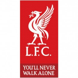 Liverpool L.F.C You'll Never Walk Alone Pyyhe Rantapyyhe 140x70cm