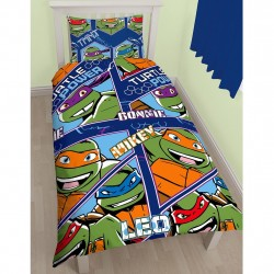 Turtles Bed linen Duvet Cover 135x200 + 48 x 74cm