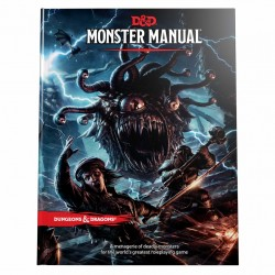 Dungeons & Dragons RPG - Monster Manual Book Roleplaying Game