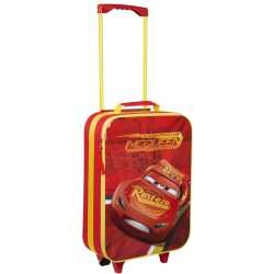 Disney Cars Lightning McQueen Trolley Travel Bag 46x34x14cm