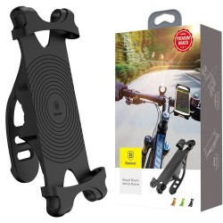 Baseus Miracle Universal Bicycle Vehicle Mounts Bike Silicone Phone Holder