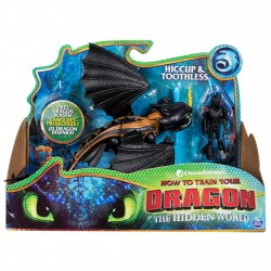 DreamWorks Dragons Toothless and Hiccup Armored Viking Figure Draktränaren Dragons Toothless and Hiccup Dragons 299,00 kr