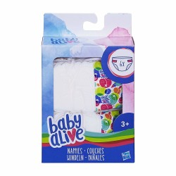 Baby Alive Diapers Refill Pack 6pcs