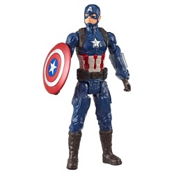 Marvel Avengers: Endgame Titan Hero Series Captain America Figure 30cm Captain America E3919 Marvel 299,00 kr