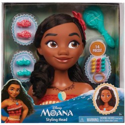 Disney Vaiana/Moana Styling Head Doll