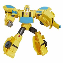 Transformers Cyberverse Action Attackers Bumblebee Figure Toy Ultimate Class