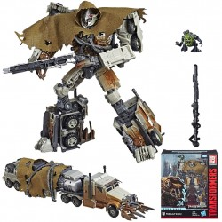 Transformers Studio Series 34 Leader Class Megatron With Igor Action Figure