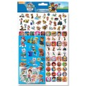 Paw Patrol Mega Stickers Pack 150pcs Fun Foiled Re-usable Blue