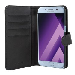 Champion PU-Leatherette Wallet Case For Galaxy A5 2017 Black