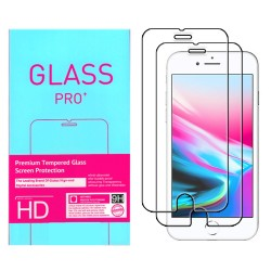 2-Pack iPhone 8 Tempered Glass Screen Protector Retail Package