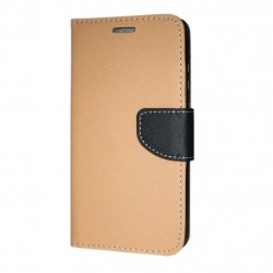 Sony Xperia 10 Plånboksfodral Fancy Case + Handrem Guld-Svart Gold-Black GL 99,00 kr product_reduction_percent
