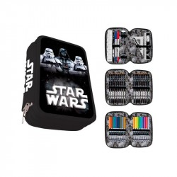 Star Wars Darth Vader 43-pieces Triple School Set Pencil Case