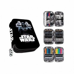 Star Wars Darth Vader 44-pieces Triple School Set Pencil Case