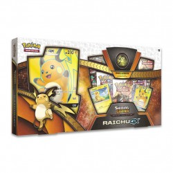 The Pokemon TCG Shining Legends Of Riachu-GX Collection Box