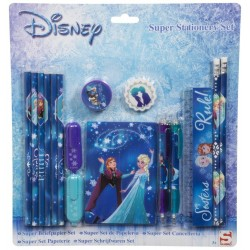 Frozen Elsa Anna Skolset Pennset 16st delar blå Super Stationery Set DFR8-691 Disney Frozen 149,00 kr product_reduction_percent