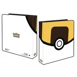 Ultra Pro 2 Ring Binder for Pokémon Cards Featuring Ultra Ball