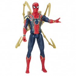 Marvel Avengers Infinity War Titan Hero With Power FX Iron Spider Figure