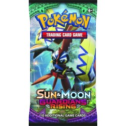 Pokemon S&M Guardians Rising Booster Pack Cards Kort 1-Pack