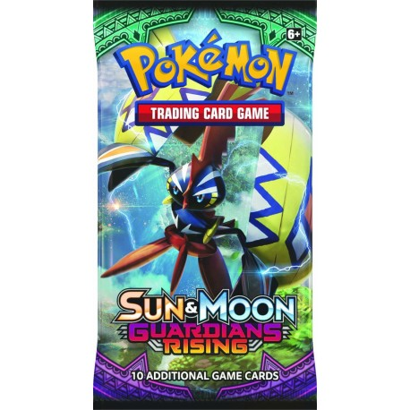 Pokemon S M Guardians Rising Booster Pack Cards 1 Pack Pokémon Tcg
