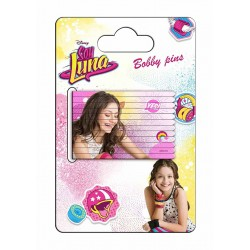 Disney Soy Luna Hårspänne/Hårnål 12st Disney Soy Luna Hair Clips Disney Soy Luna 69,00 kr product_reduction_percent