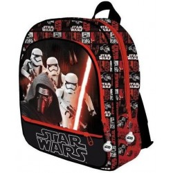 Star Wars Backpack School Bag With Kylo Ren Black 41x33x12cm